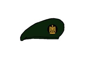 Egyptian Army Thunderbolt camouflage uniform