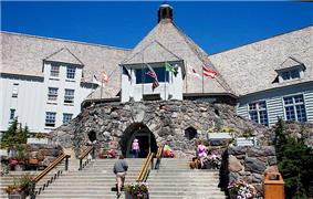 Timberline Lodge.