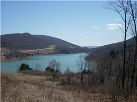 Tioga Reservoir in Tioga Township
