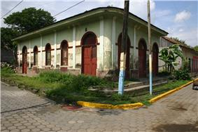 A colonial house in Tipitapa