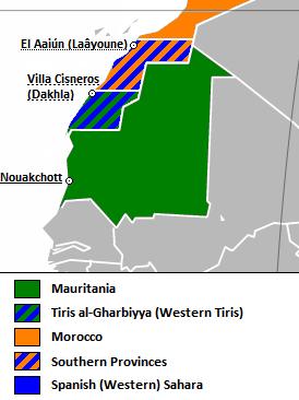Location of Western Tiris