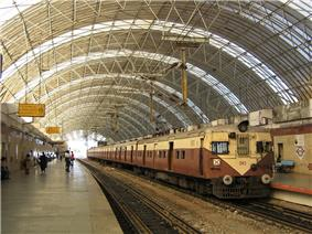 MRTS station, Mylapore