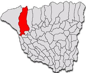 Location of Tismana