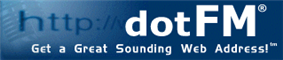 dotFM - Get a Great Sounding Web Address!