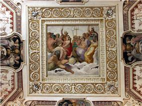 Tivoli, Villa d'Este, Deckenfresko 1.jpg