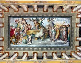 Tivoli, Villa d'Este, Deckenfresko 2.jpg