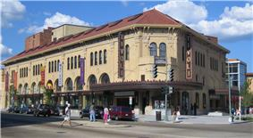 The Tivoli Theatre, a renovated landmark on 14th Street NW, is a symbol of Columbia Heights.