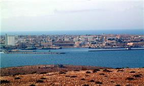 Panorama of Tobruk