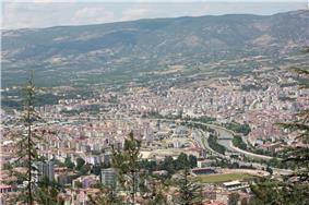Yeşilırmak River (Yeşilırmak) and Tokat views.