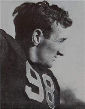 A picture of Tom Harmon posing.