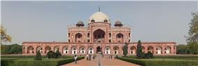 Front view Delhi