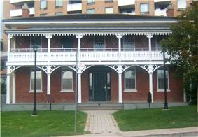 Lambton House Hotel on Old Dundas Street