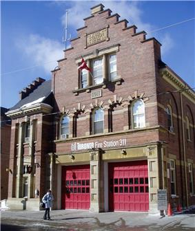 Exterior view of Bamoral Fire Hall