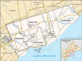 New Toronto is located in Toronto
