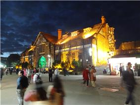 Town Hall Shimla, at evening.JPG
