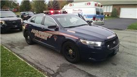 Town of Amherst police Ford Taurus
