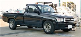Japanese Toyota Hilux.