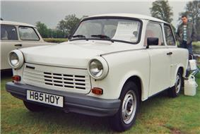The short-lived Trabant 1.1 with VW Polo four-stroke engine.
