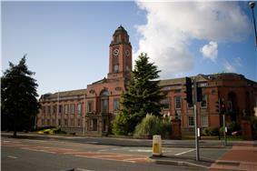 Trafford Town Hall, in Stretford