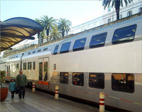 A TNR in Rabat-Ville station