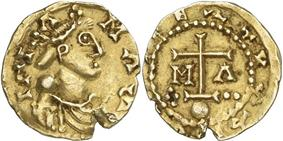 Coin of Childebert