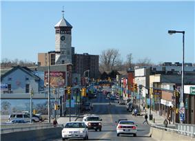 Dundas Street, the main road in Trenton