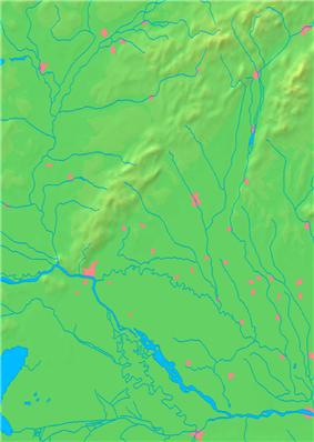Location of Piešťany in the Trnava Region