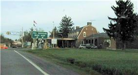 U.S. Inspection Station–Trout River, New York