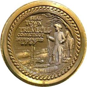Official seal of Trumbull, Connecticut
