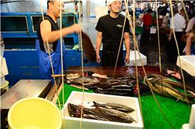 Tsukiji fish market - fishermen 01.jpg
