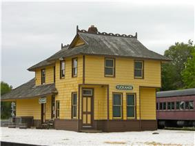 The Historic Tuckahoe Train Station
