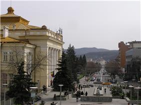 Skyline of Râmnicu Vâlcea