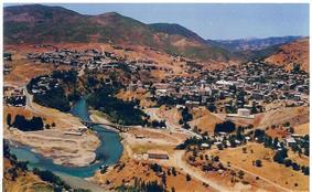 Tunceli in Munzur valley