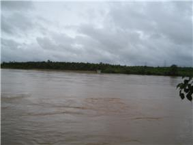 The Tunga River at Mattur