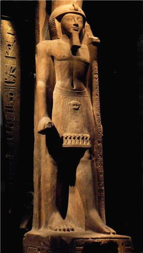 Statue of Seti II at the Turin Museum