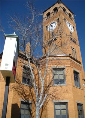 The Macon County Courthouse in Tuskegee was added to the National Register of Historic Places on November 17, 1987