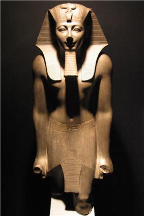 Thutmosis III statue in Luxor Museum