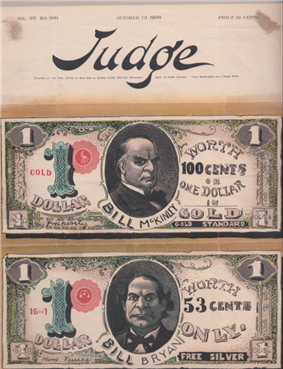 An illustrated magazine cover. Two dollar