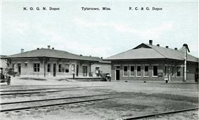 New Orleans and Great Northern Railroad Depot-Tylertown