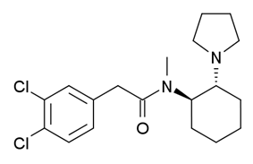 Chemical structure of U-50488.