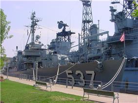 USS THE SULLIVANS (destroyer)