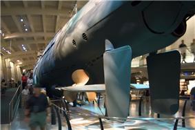 Underside of U-505