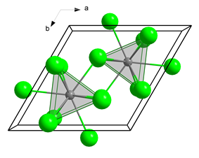 The crystal structure of uranium trichloride