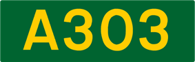 A303 road shield