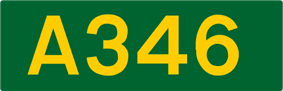 A346 road shield
