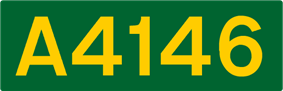 A4146 road shield