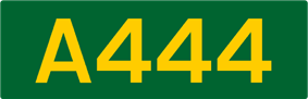 A444 road shield