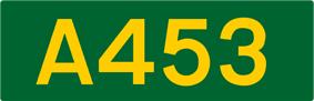 A453 road shield
