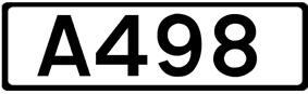 A498 road shield
