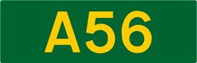 A56 road shield